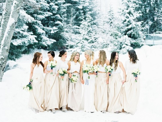 Gallery - Cozy Up To This Gorgeous Winter Wonderland Wedding In Canada