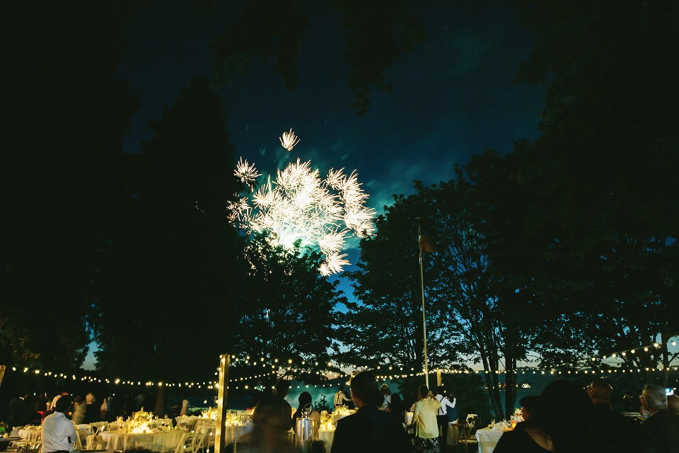 fireworks for your wedding day