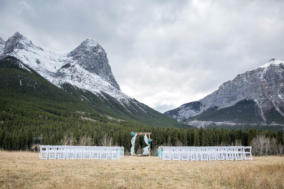 Get married in the mountains
