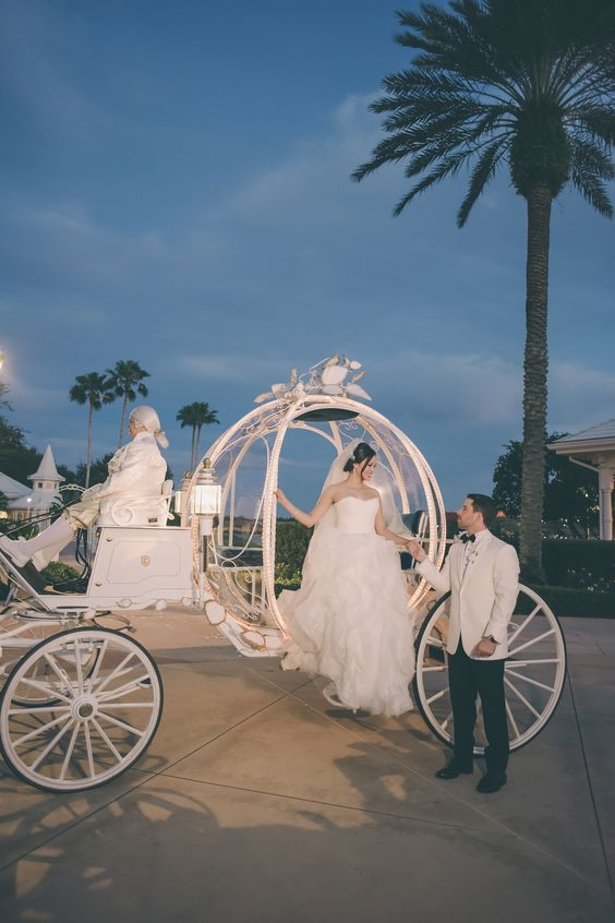 Real Disney wedding