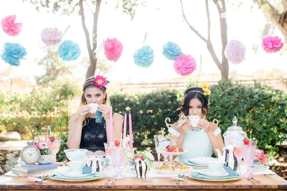 wanna have fun mad hatter tea party