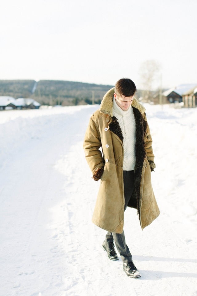 winter wedding groom outfit