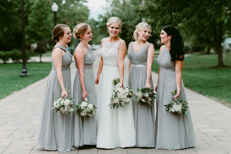 64fae9080a5 Posted By Azazie. Stunning dresses for your entire bridal ...
