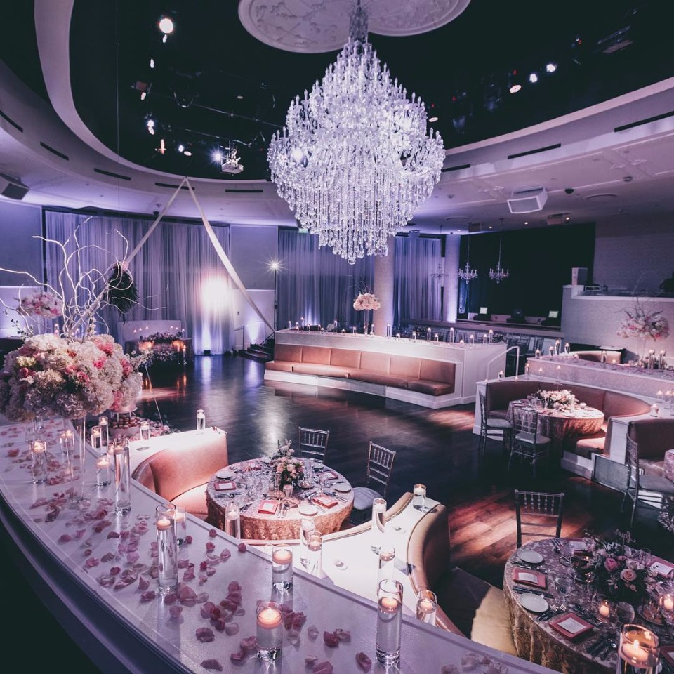 Tropicana Las Vegas Wedding Reception