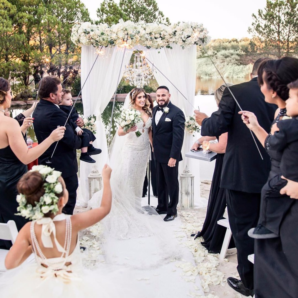 Weddings at Hilton Lake Las Vegas Wedding