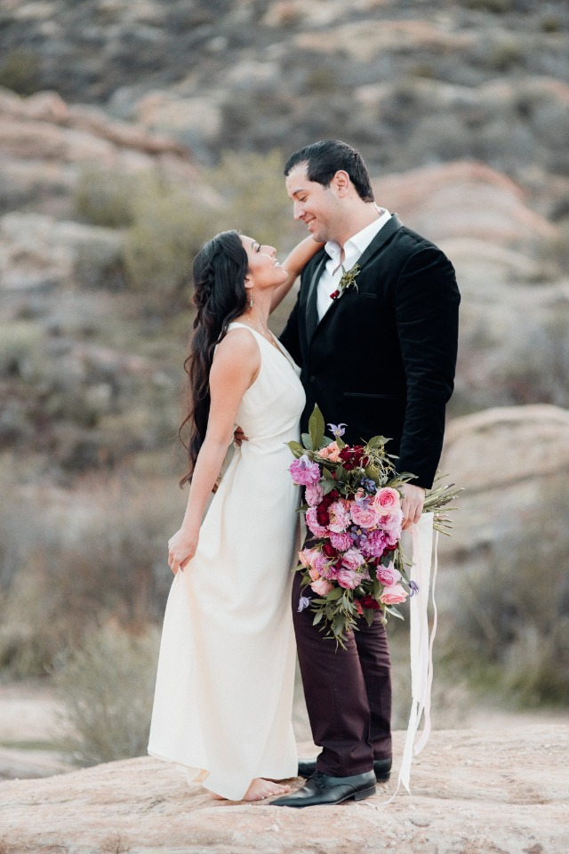 Gorgeous Valentines day shoot in the desert