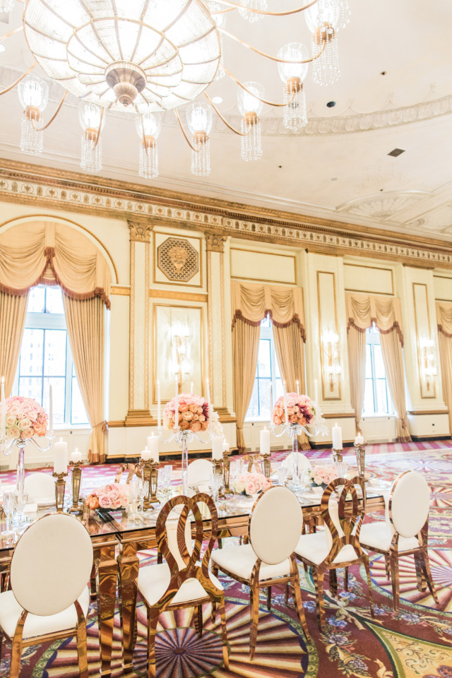 gorgeous hotel wedding reception venue