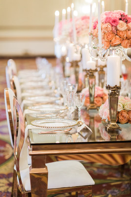 This Rose Gold Affair Will Leave You Dreaming Of Glam And Roses