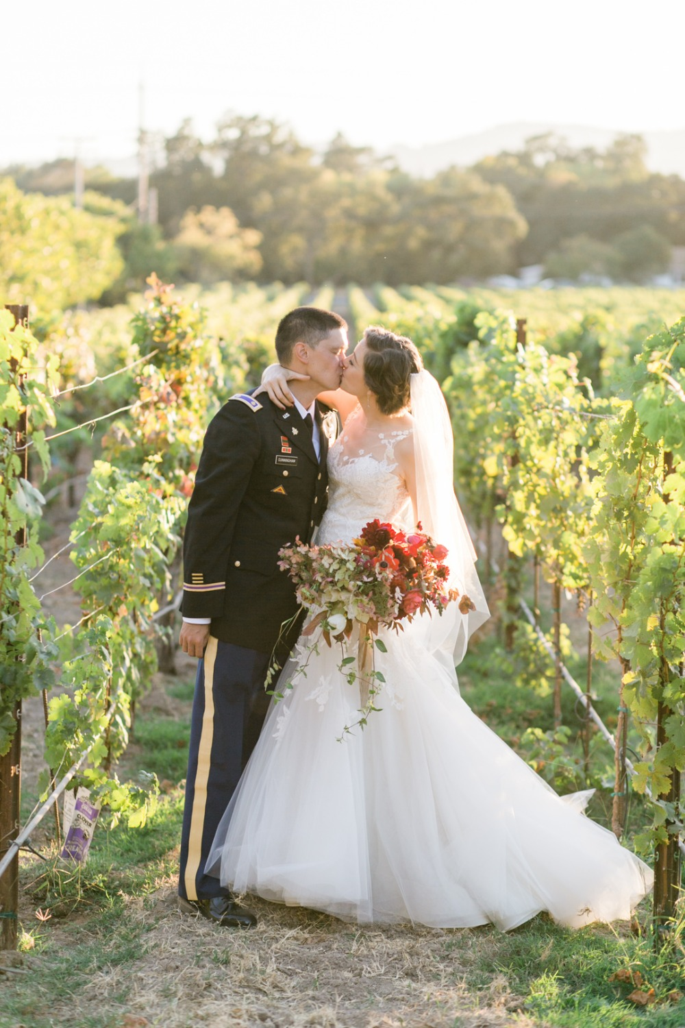 vineyard wedding in September