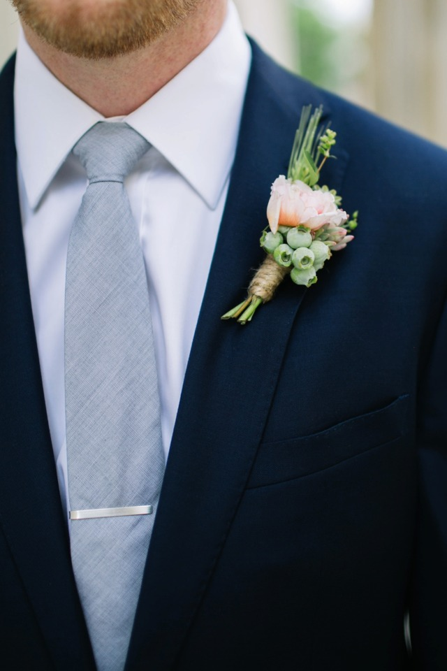 light grey and navy groom
