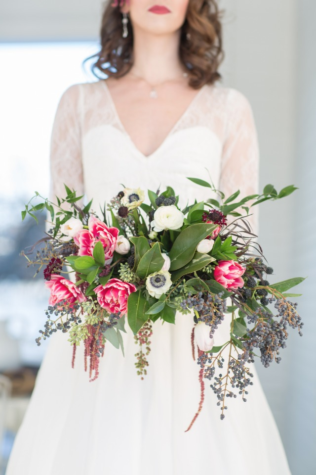 Gorgeous loose bouquet