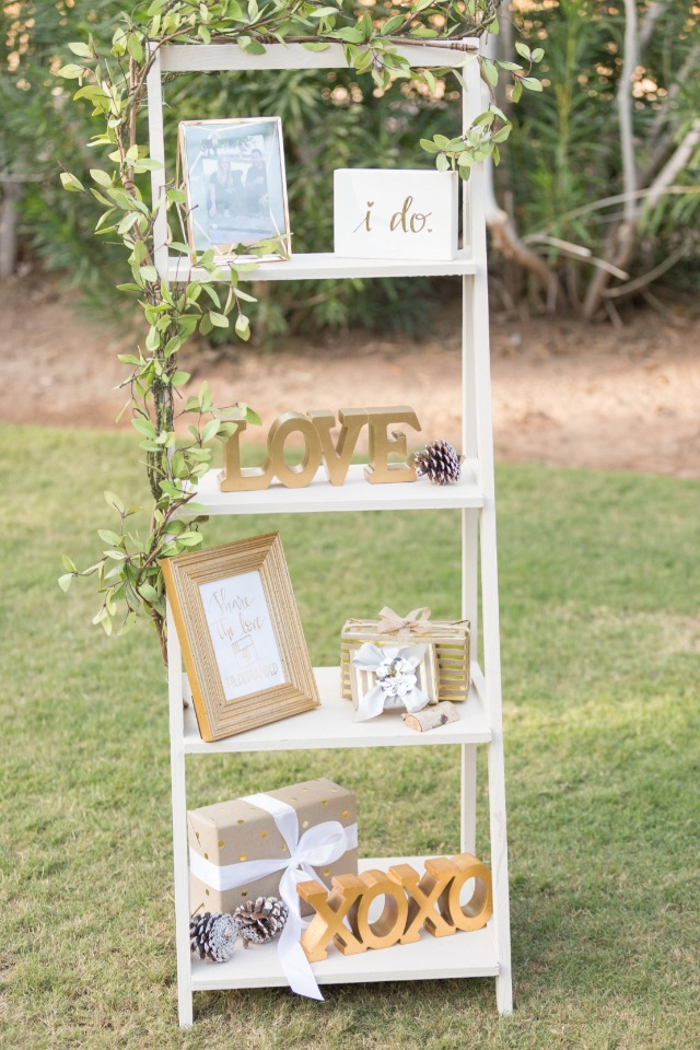 love wedding shelf