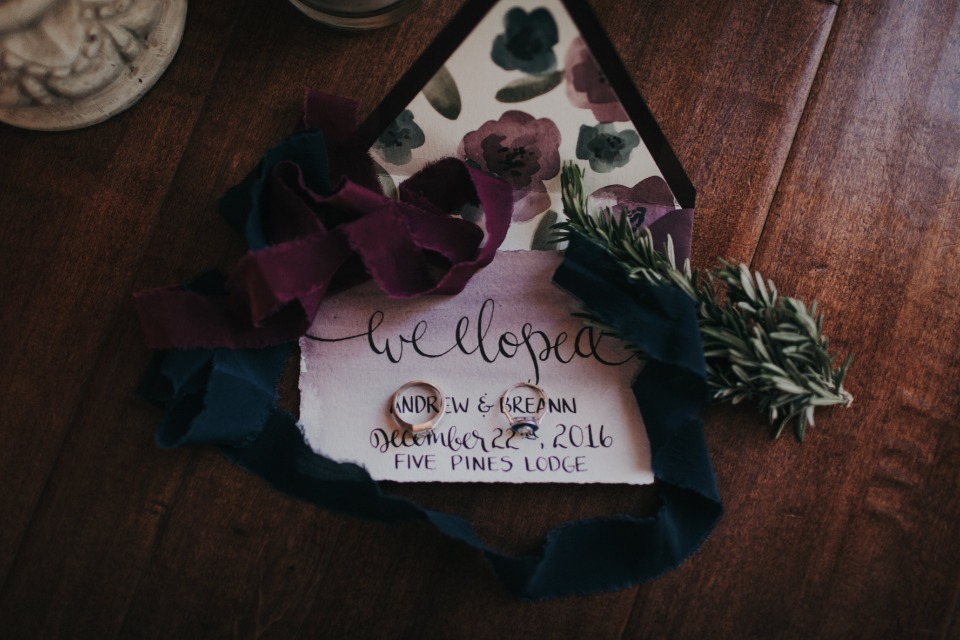 elopement announcment
