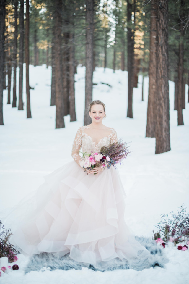 stunning Hayley Paige wedding gown