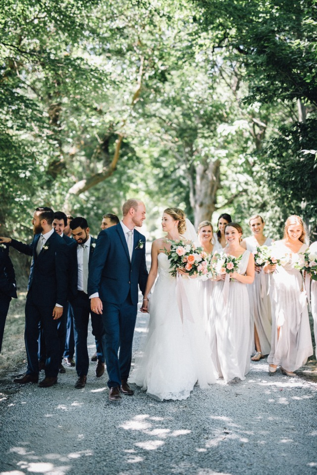 Natural outdoor wedding