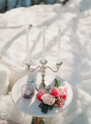 This Snowy Romance Filled Elopement Will Surely Melt Your Heart