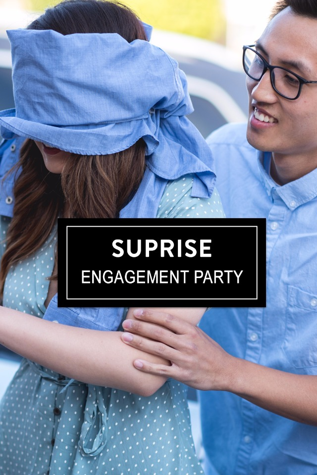 surprise engagement party