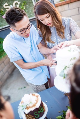He Planned A Surprise Engagement Party For His Bride!