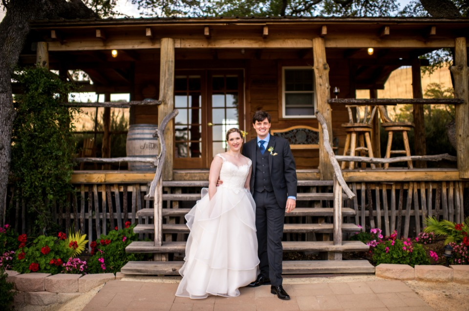 rustic summer time wedding venue