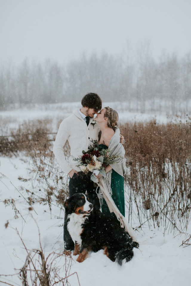 stunning winter wedding ideas based on hygge
