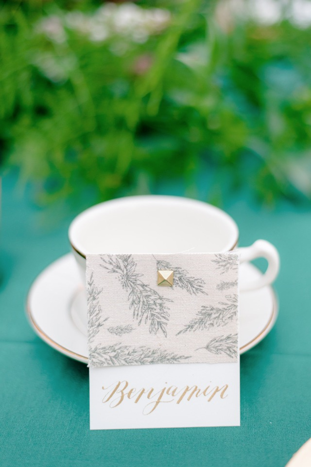 elegant place card