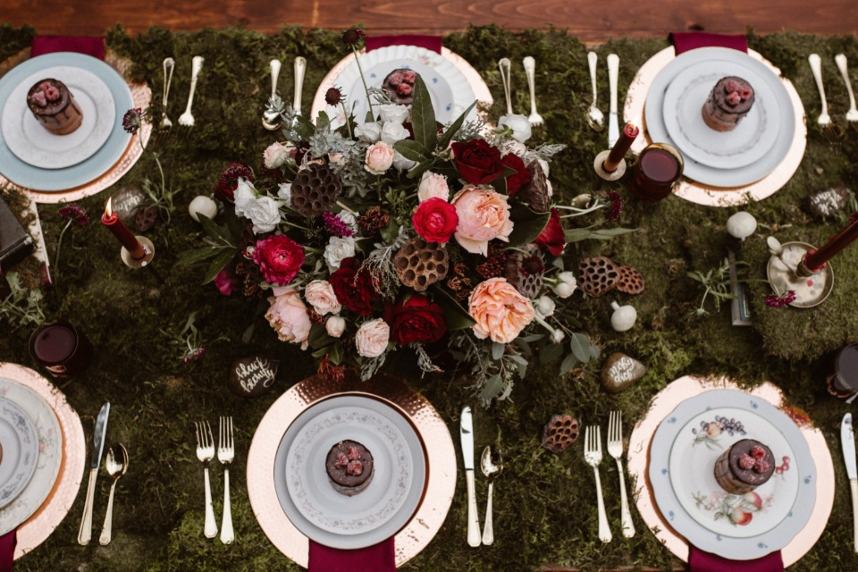Dreamy table scape