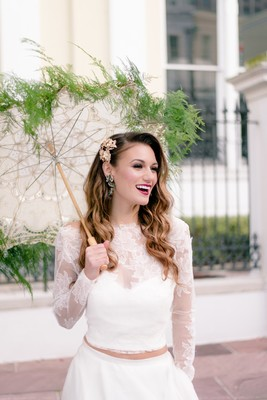 Rethink Your Colors After Seeing This Jewel Toned New Orleans Shoot
