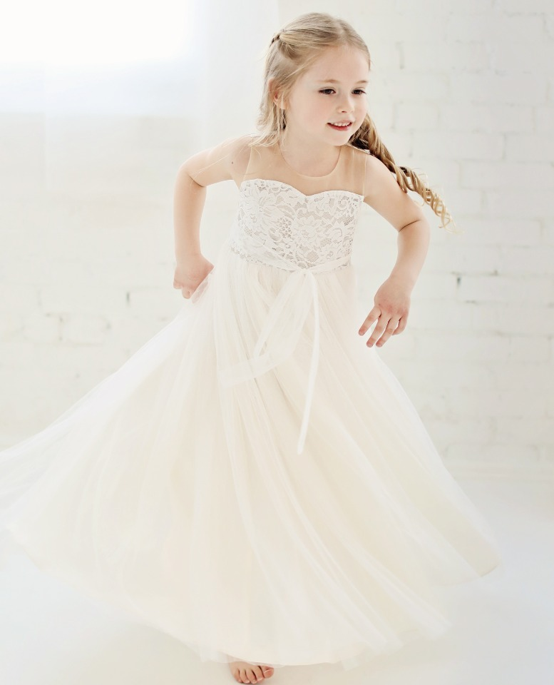 Adorable lace and tulle dress from Fattiepie