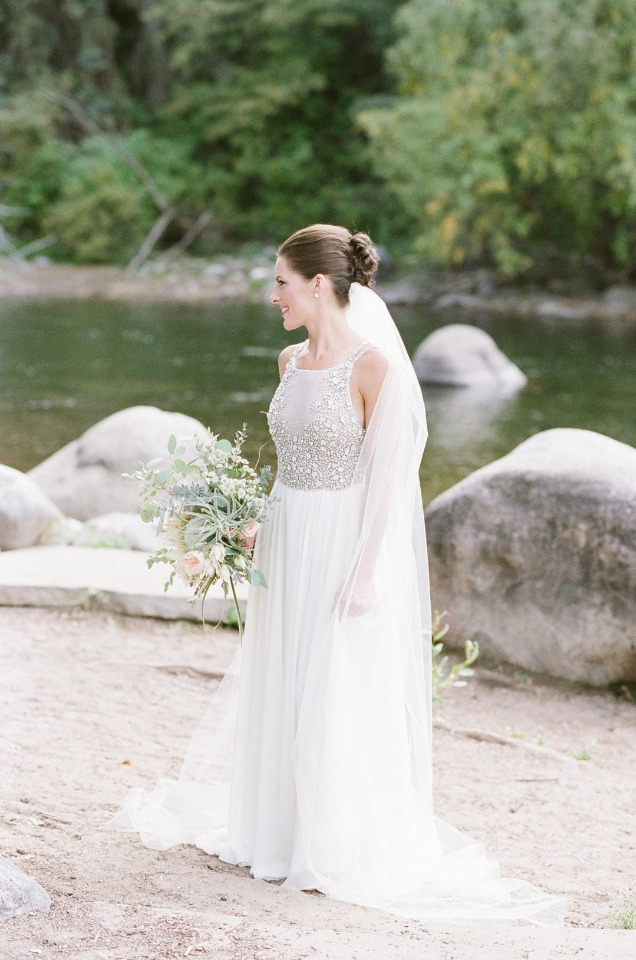 glam wedding dress from Hayley Paige