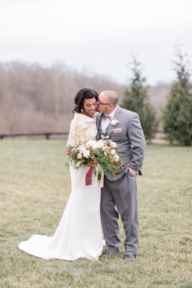 Intimate and romantic elopement