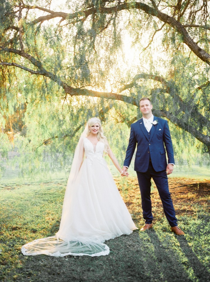 Gorgeous country club wedding in California