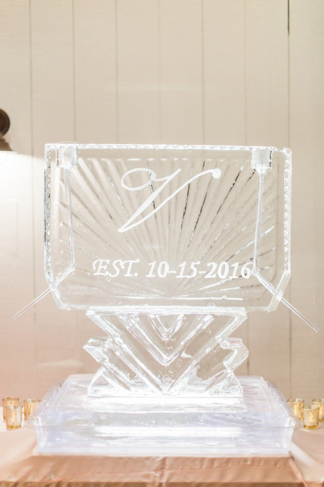Ice scultpure