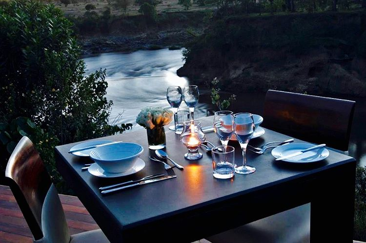 dinner for two on your DK Grand Safari adventure