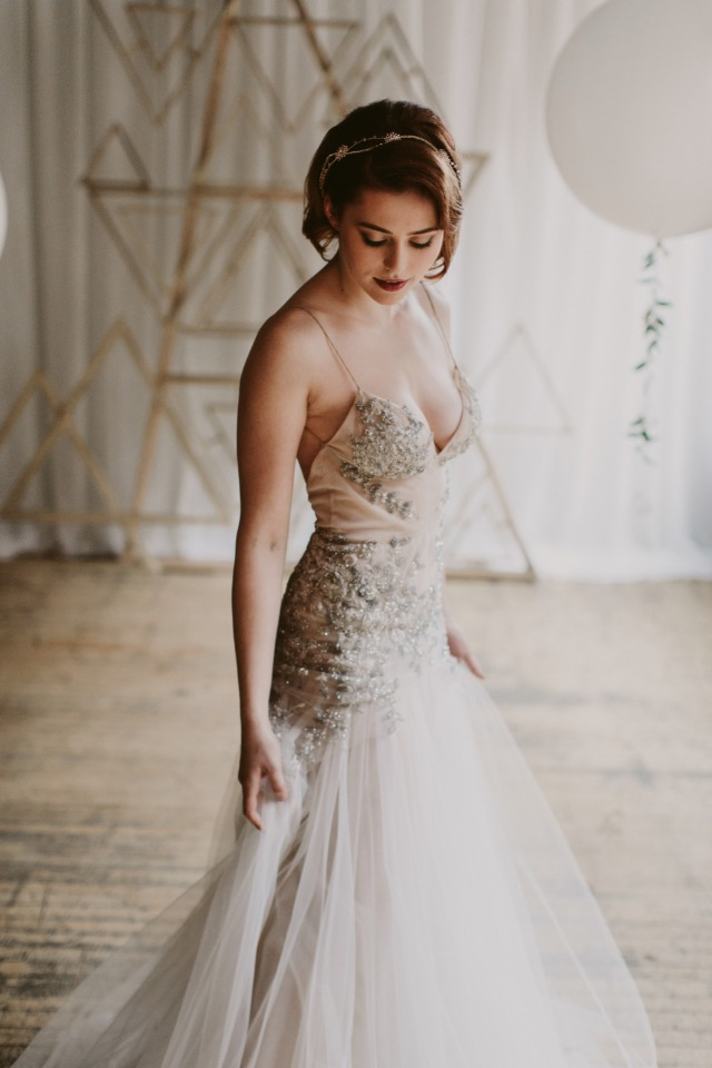 glamorous wedding dress from Inbal Dror