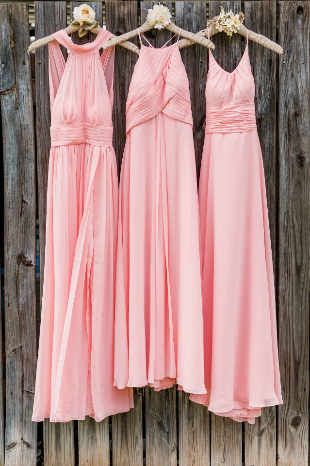 Mix and match styles for your bridesmaids from Azazie