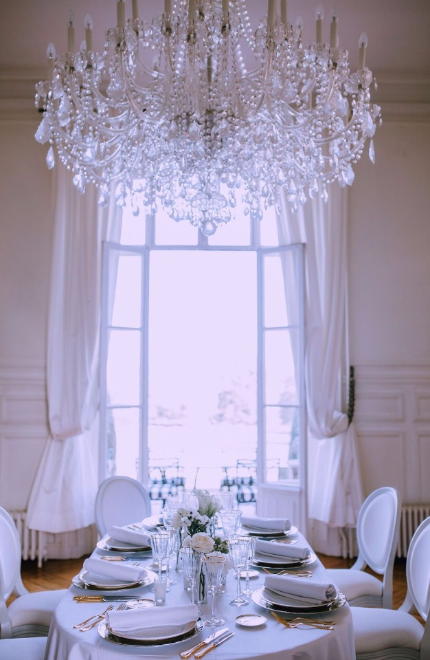 Intimate ballroom reception