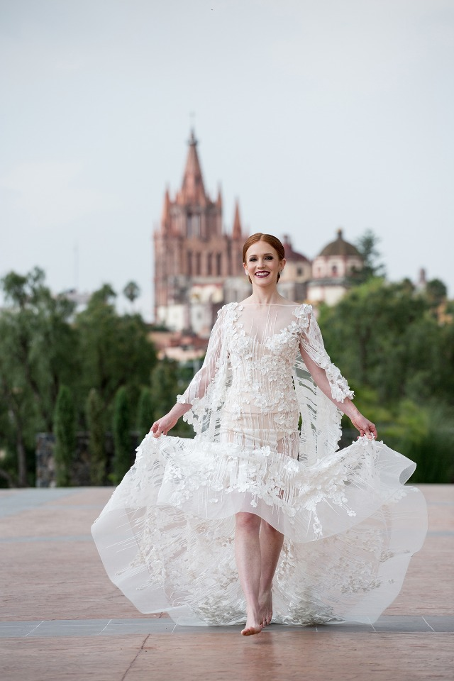 couture wedding gown from Steven Khalil