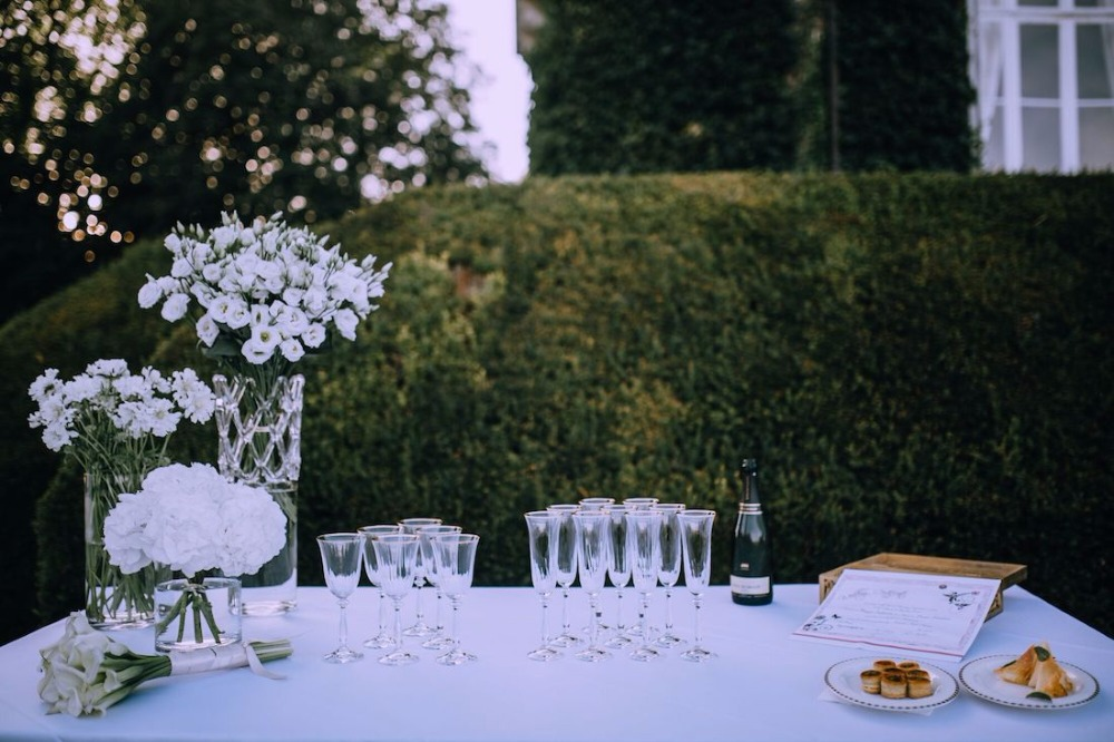 Intimate French Chateau Countryside Wedding