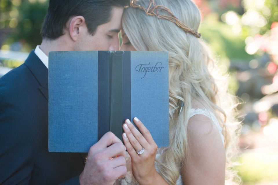 together wedding fairy tale book