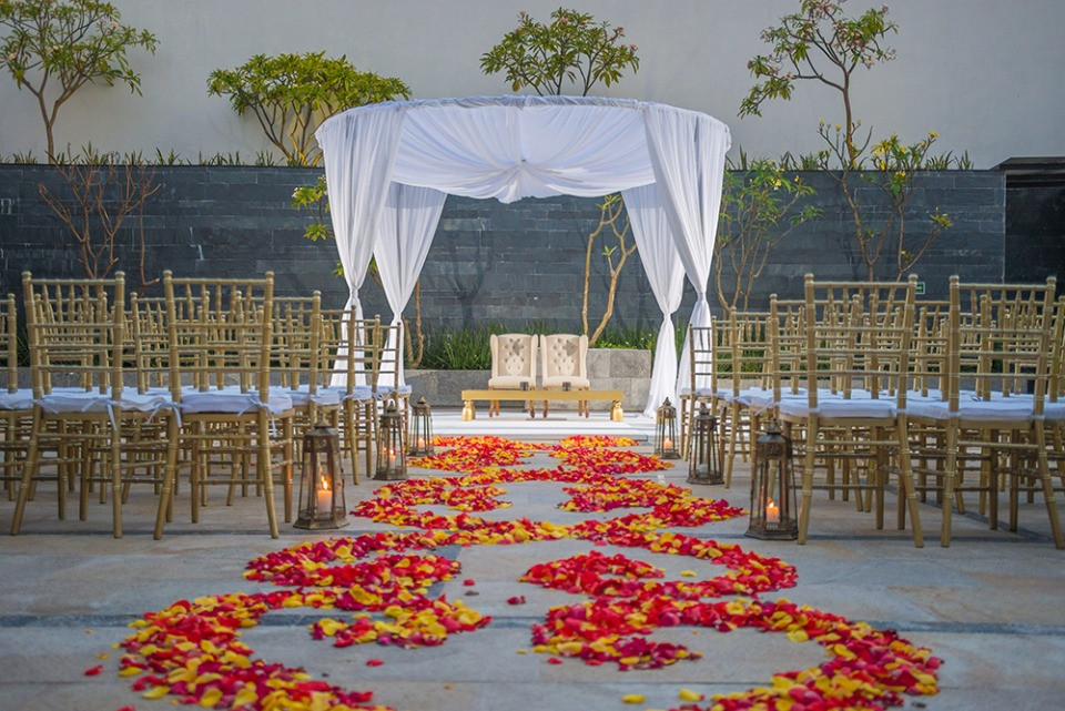 romantic and magical outdoor Mexico wedding venue
