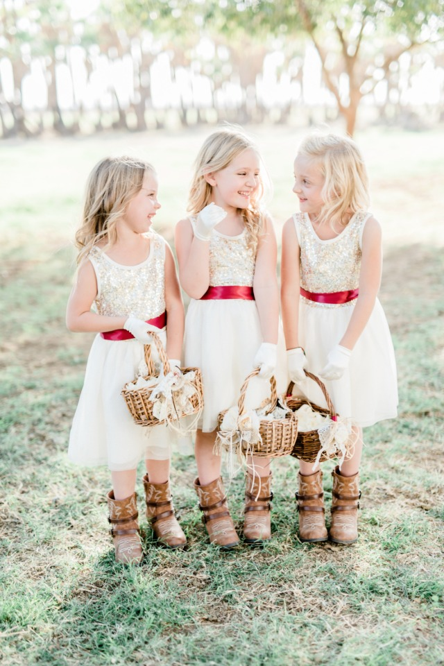 Cutest flower girls