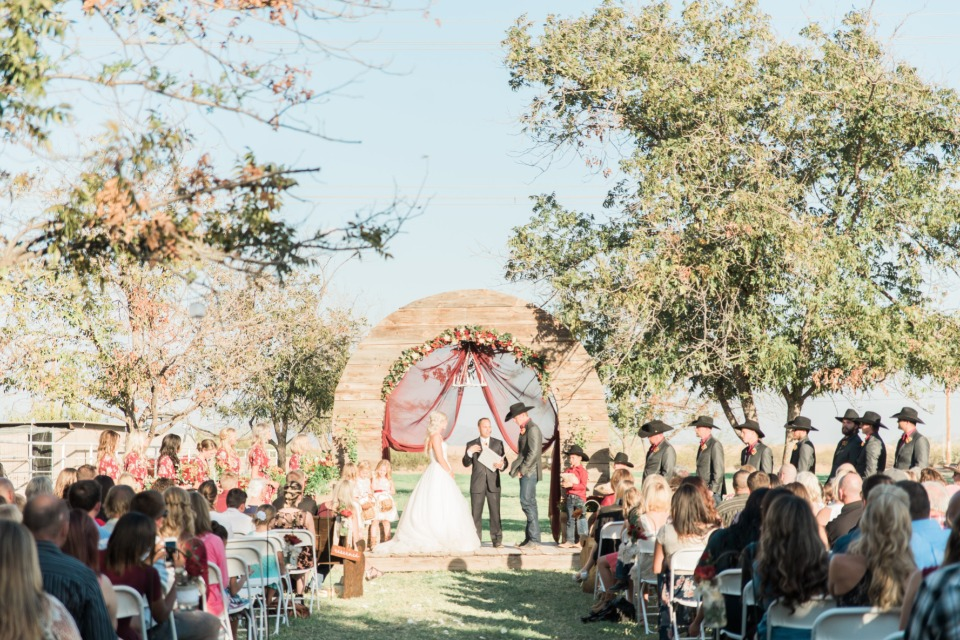 Love this country wedding