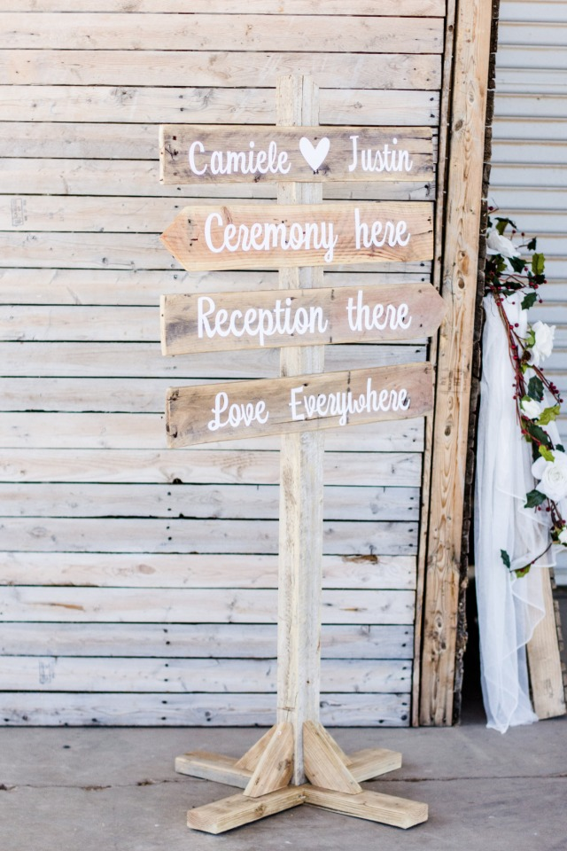 Cute wood sign idea