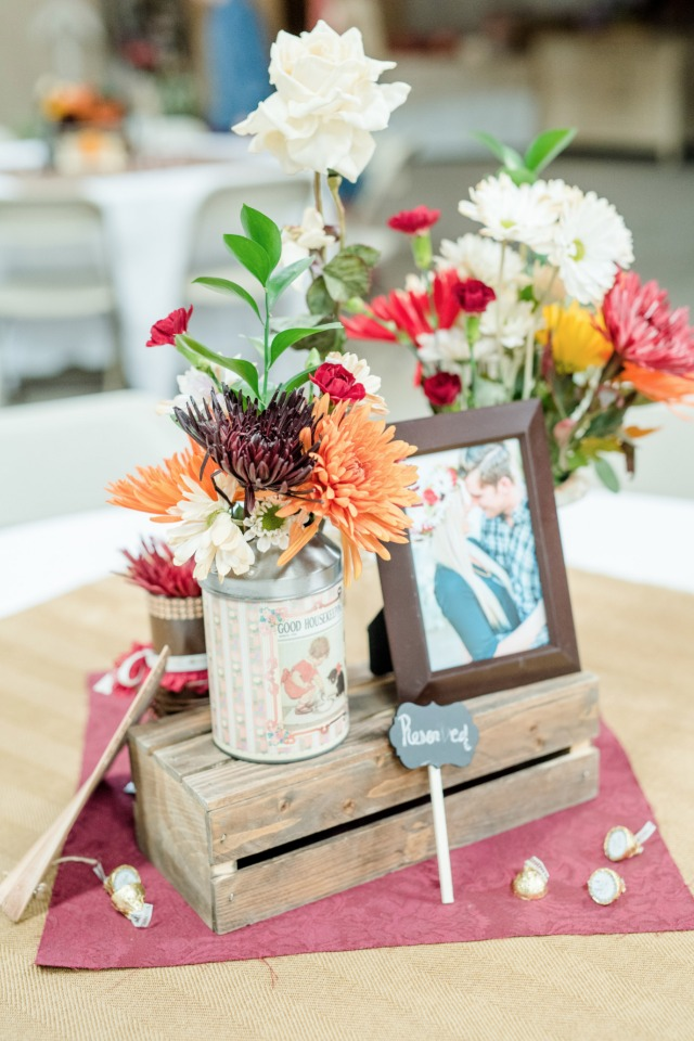 Photo centerpiece idea