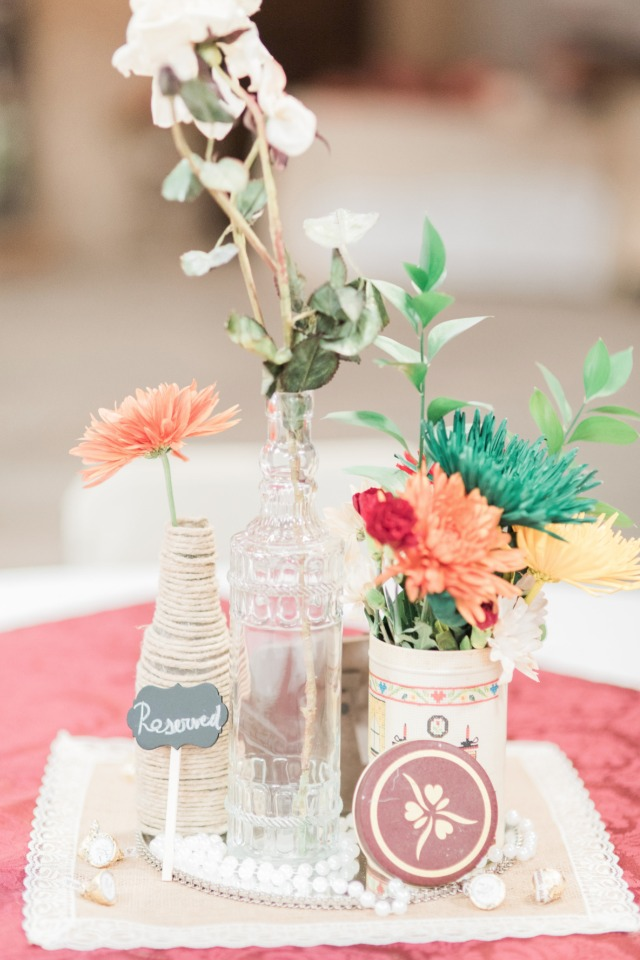 Chic country centerpiece