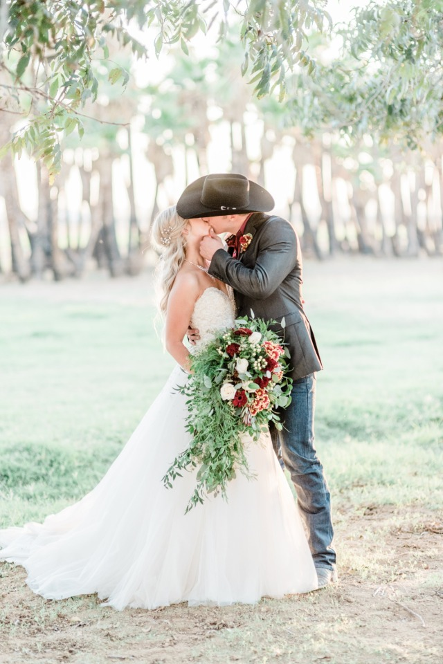 Romantic summer country wedding