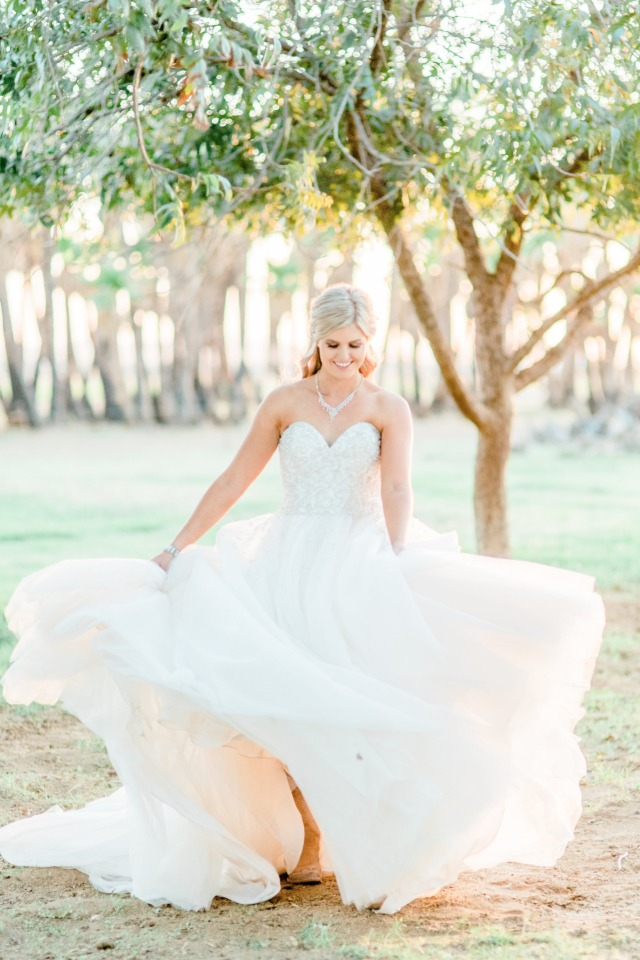 Beautiful country bride