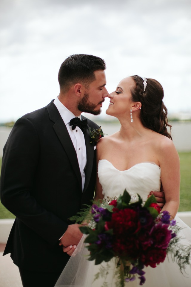Beautiful baseball themed wedding