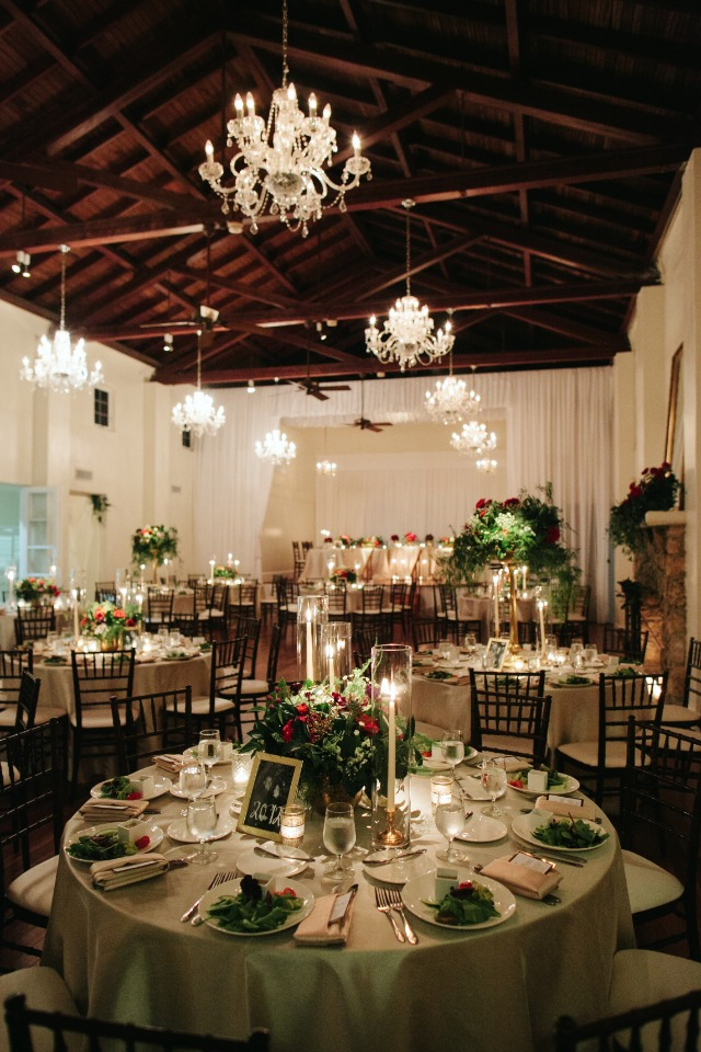 Dreamy reception space