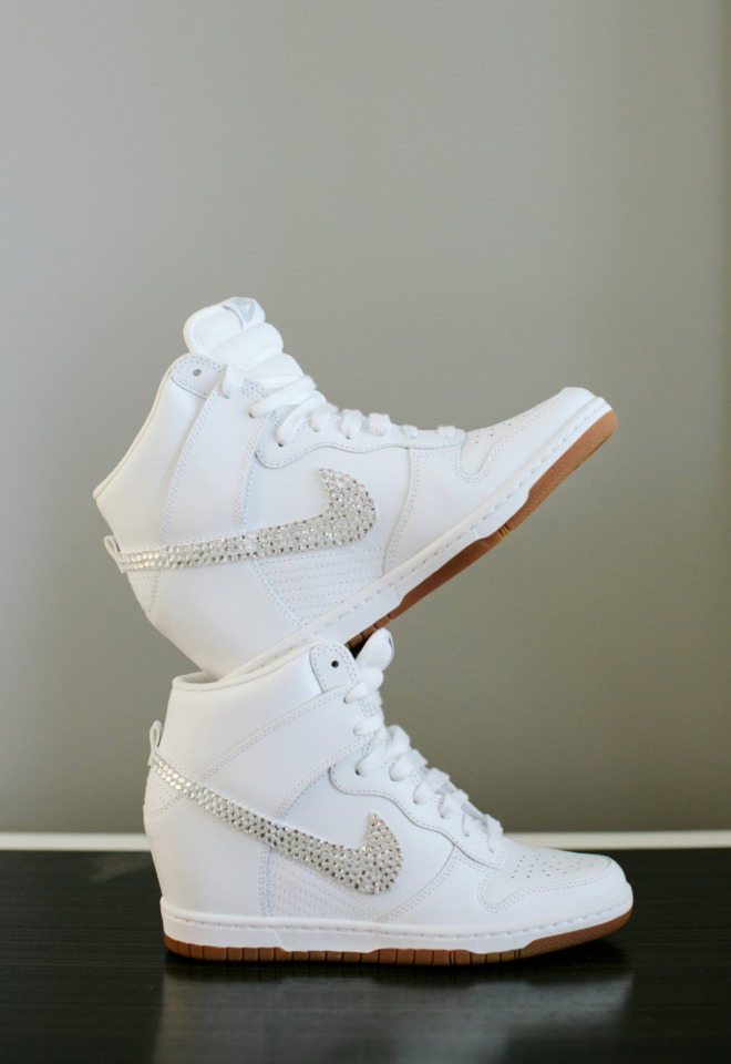 Nike wedding shoes
